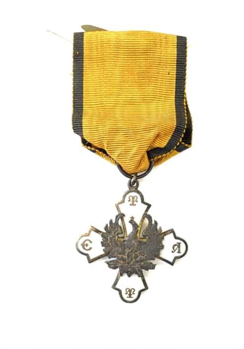Τάγμα του Φοίνικος , Ά τύπος , ΕΤΤΑ Παράσημα - Στρατιωτικά μετάλλια - Τάγματα αριστείας
