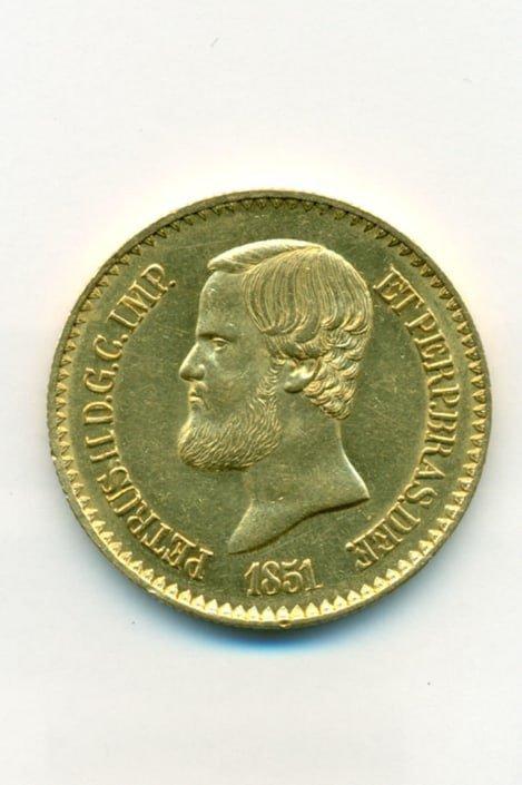 Χρυσό νόμισμα (Βραζιλία 1851) Ξένα νομίσματα