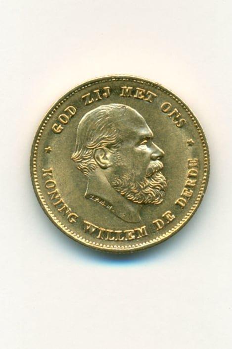 Χρυσό νόμισμα – Ολλανδία 1875 Willem3 Ξένα νομίσματα
