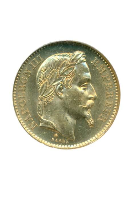 Γαλλία 1868 – 20 francs Ξένα νομίσματα
