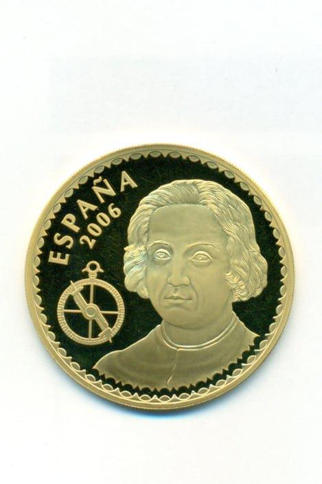 Ισπανία 2006 – χρυσό αναμνηστικό νόμισμα 400 ευρώ Ξένα νομίσματα