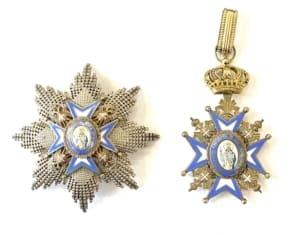 Σερβία Ανώτερος ταξιάρχης Αγίου Σάββα Παράσημα - Στρατιωτικά μετάλλια - Τάγματα αριστείας