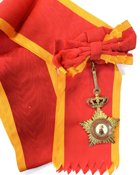 Μεγαλόσταυρος Πατριαρχείο Ιεροσολύμων Βενέδικτος Ά Παράσημα - Στρατιωτικά μετάλλια - Τάγματα αριστείας