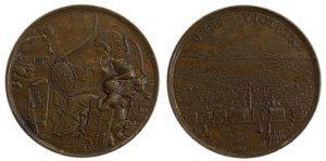 Italy Venice 1686 Francesco Morosini ,Victories against the Turks in Morea Αναμνηστικά Μετάλλια