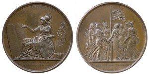 1817 μετάλλιο Συντάγματος Ιονίων νήσων Αναμνηστικά Μετάλλια