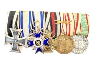 WWI military Medal group Παράσημα - Στρατιωτικά μετάλλια - Τάγματα αριστείας
