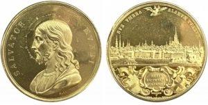 Αυστρία χρυσό μετάλλιο Σωτήρας του κόσμου Αναμνηστικά Μετάλλια