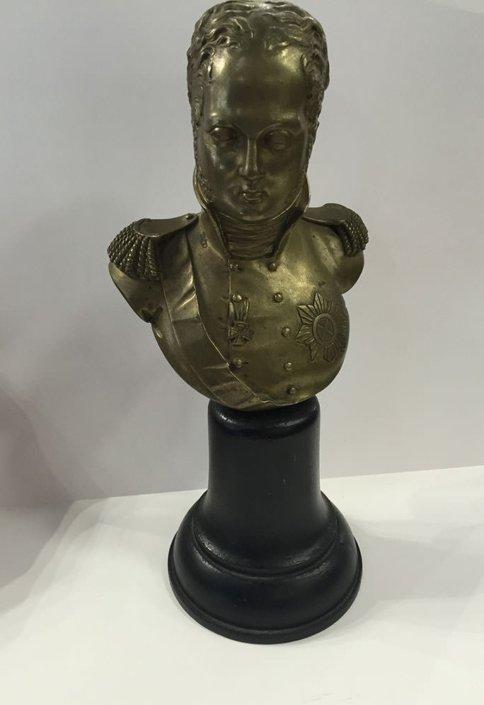 Μπρούτζινο άγαλμα τσάρου Αλεξάνδρου 1ου Ρωσίας Αντίκες & διάφορα