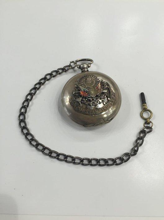 Οθωμανικό ασημένιο ρολόι Serkisoff Αντίκες & διάφορα