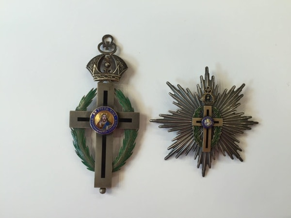 Σετ μεγαλοσταύρου – αστέρας και σταυρός Παράσημα - Στρατιωτικά μετάλλια - Τάγματα αριστείας