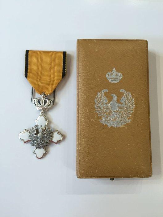 Αργυρός ιππότης του τάγματος του Φοίνικα Παράσημα - Στρατιωτικά μετάλλια - Τάγματα αριστείας
