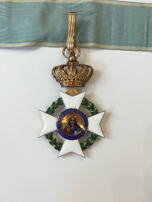 Ολόχρυσος Κ18 ταξιάρχης του τάγματος του Σωτήρος Παράσημα - Στρατιωτικά μετάλλια - Τάγματα αριστείας