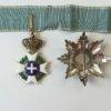 Σετ ανωτέρων ταξιαρχών του τάγματος του Σωτήρος Παράσημα - Στρατιωτικά μετάλλια - Τάγματα αριστείας
