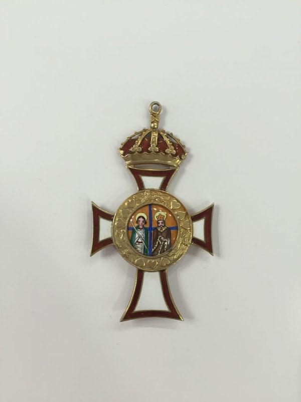 Σταυρός από βασιλικό περιδέραιο Παράσημα - Στρατιωτικά μετάλλια - Τάγματα αριστείας