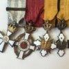 Μπαρέτα Β' Παγκοσμίου Παράσημα - Στρατιωτικά μετάλλια - Τάγματα αριστείας