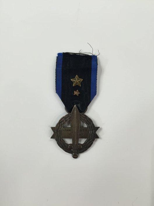 Πολεμικός σταυρός 1916-17 2ης τάξης με διπλή απονομή Παράσημα - Στρατιωτικά μετάλλια - Τάγματα αριστείας