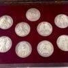 Ασημένια αναμνηστικά μετάλλια  'Ήρωες του `21' Αναμνηστικά Μετάλλια