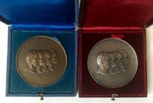 Αναμνηστικά μετάλλια της εθνικής τράπεζας της Ελλάδας , 1902 Αναμνηστικά Μετάλλια