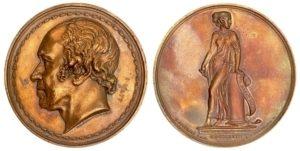 1827 James Watt commemorative medal Αναμνηστικά Μετάλλια