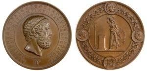 "1841 Germany, Bronze medal ,performance of Sofocles ""Antigone"" Αναμνηστικά Μετάλλια"