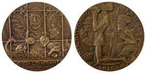 1915 Germany medal wooing of the Balkan Kings Αναμνηστικά Μετάλλια