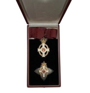 Greece order of George I, grand commander full set Παράσημα - Στρατιωτικά μετάλλια - Τάγματα αριστείας