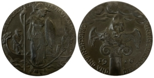 1916 Greece and the hand of Friendship medal Αναμνηστικά Μετάλλια